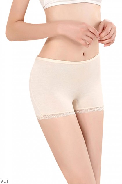 Seamless Lace Safety Short Pants [M14908]