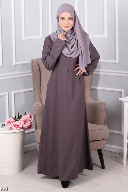 KM Classic Solid Jubah [M11036]