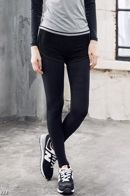 2 in 1 Women Training Tights [M21683]