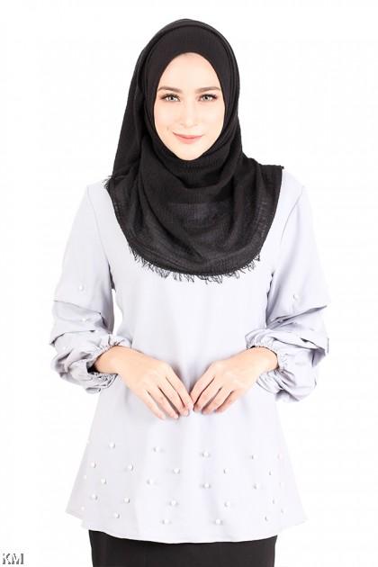 Embellished Muslimah Blouse [M14229]