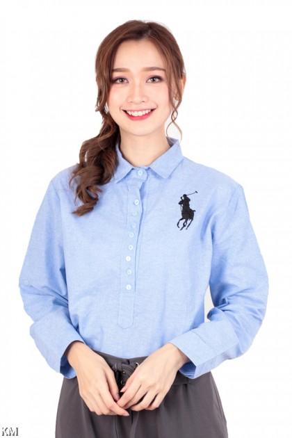 Muslimah Cotton Long Shirt [M17476]