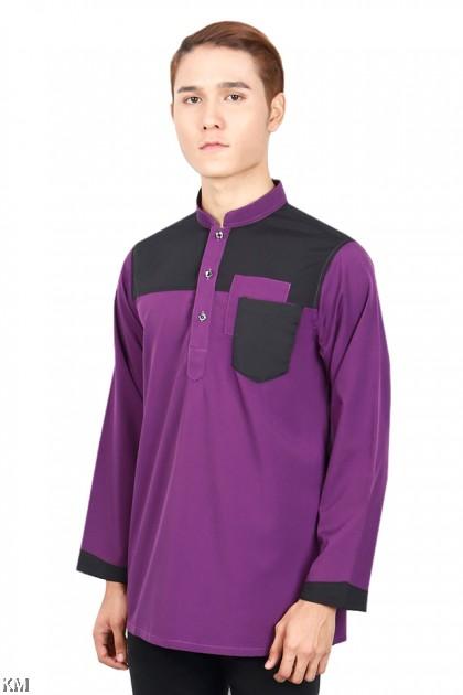 Men Hazzan Pocketed Button Kurta [M19653]