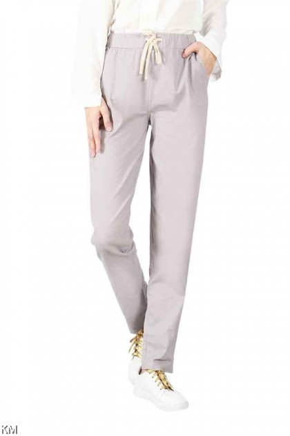 3 Designs Linen Cotton Trousers Collection [P16892]