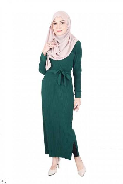 Mandarin Collar Luxuriant Godet Maxi Dress [D22116]