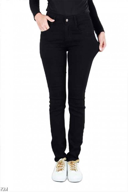 KM Authentic Plus Size High Rise Skinny Jeans [J21174]