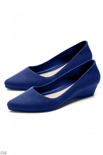Mia Women Solid Wedges Jelly Shoe [SH25133]