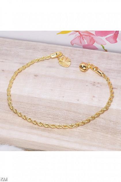 916-24K Fashion Korea Gold Bracelet [BB]