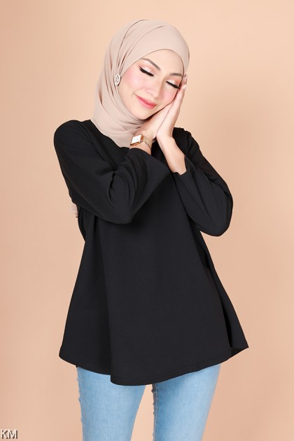Inaya Peplum Fashion Blouse [B31227]