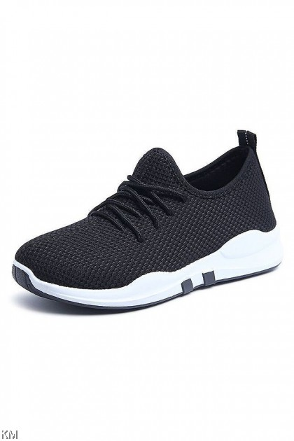 Unisex Doubleline Flying Knit Sneakers [SH32692]