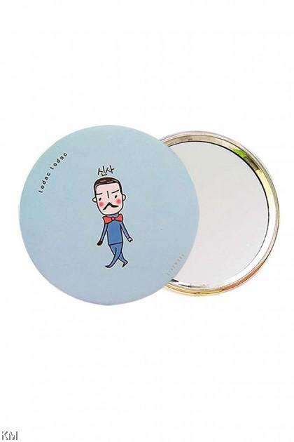 Cartoon Compact Small Mirror Gift [5158]