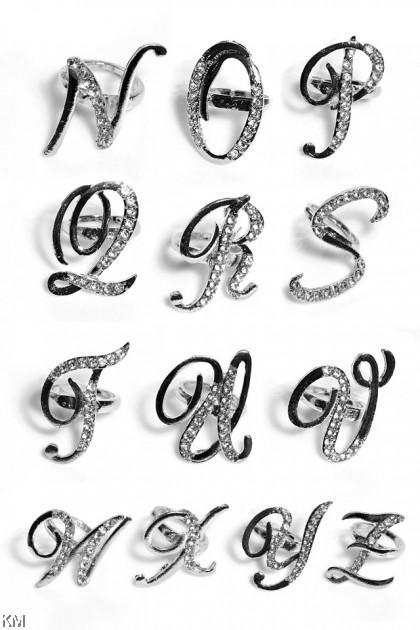 Alphabet Ring Bawal N-Z [A09]