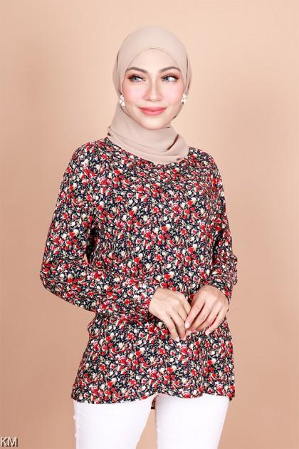 Nayla Fully Printed Fashion Blouse [B33028]