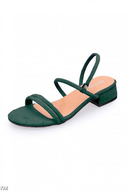 2 Ways Straps Women Thick Heels [SH23067]