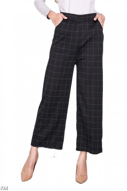 Europe Style Checkered Pants [P29542]