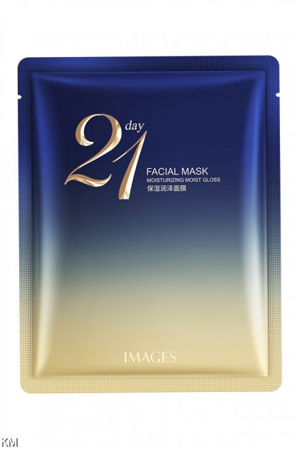 21 Day Moisturizing Moist Gloss Facial Mask [C1136]