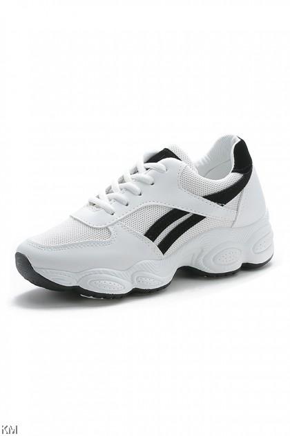 Golfy Fashion Mesh Sneakers [SH12467]