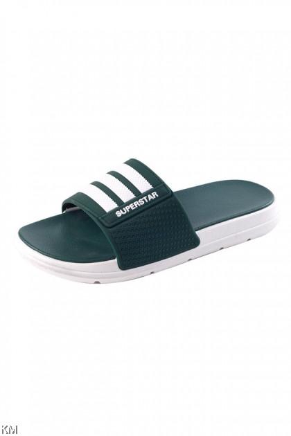 Unisex Superstar Striped Sandals [SH33355] [SH33358]