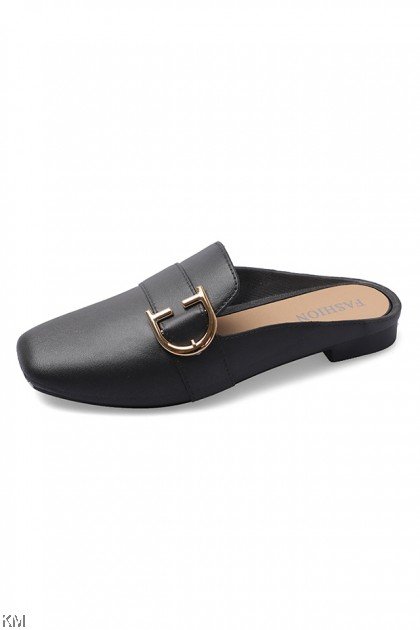 Phearla-D Flat Mules Loafer [SH22679]