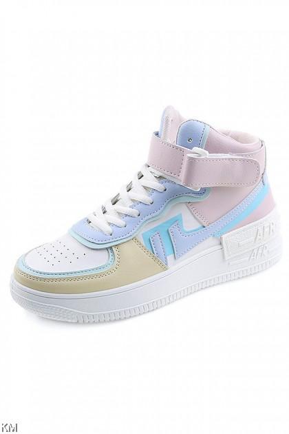 Macaron High Top Sneakers [SH22403]