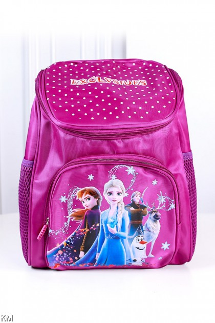Kids Unisex Cartoon Top Zipper Backpack [BG14234]