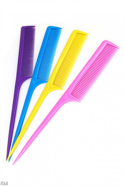 Colorful Pointed Tail Comb [5166]