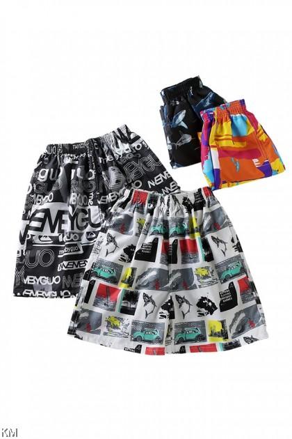 Unisex Hawaii Short Pants [P25580]