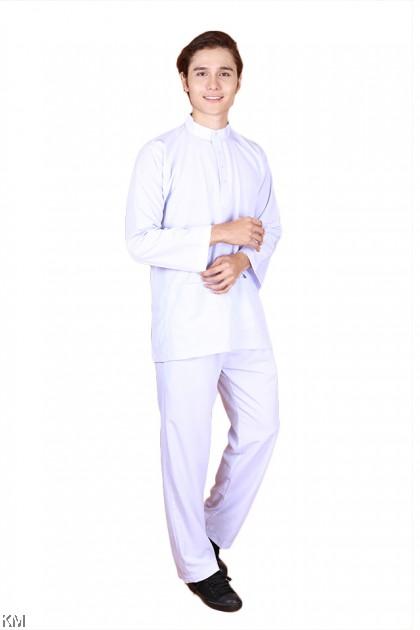 Size S-XL Baju Melayu Sekolah Agama Dewasa [M24202]