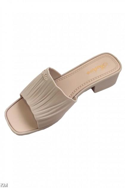 Crease Slip On Sandals [SH26465]