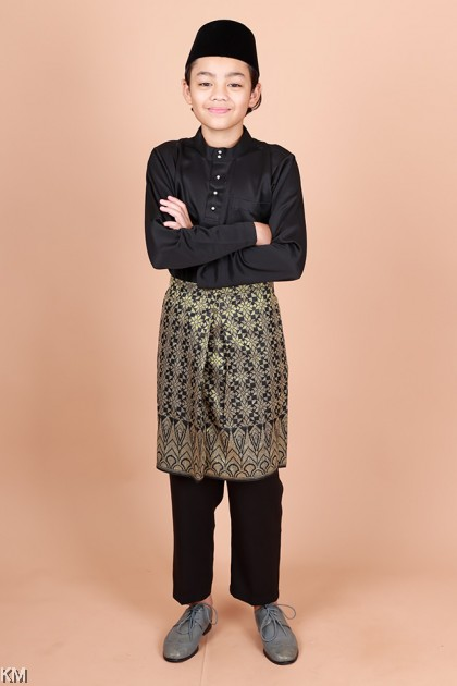 Kids Haikal Size 24-32 Morden Baju Melayu Set [M20985]