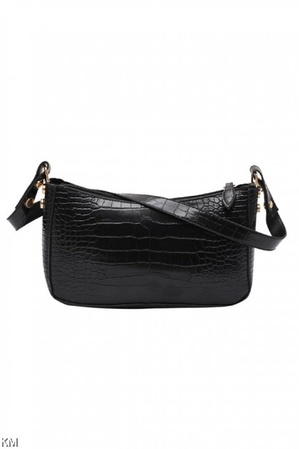 Vintage Zipper Shoulder Bag [BG33960]