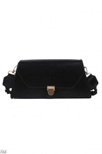 Twisted Shoulder Strap Buckle Bag [BG33963]