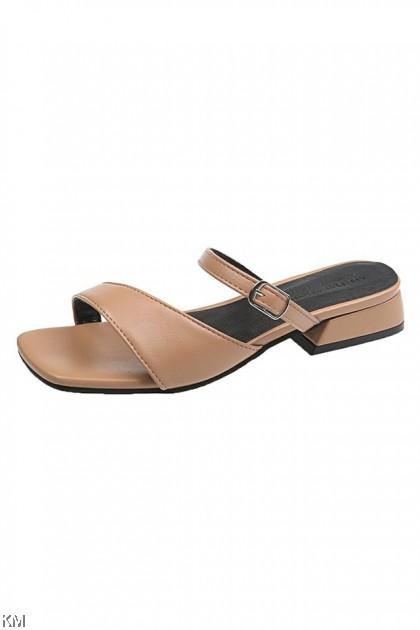 Buckle Roman Sandals [SH34573]