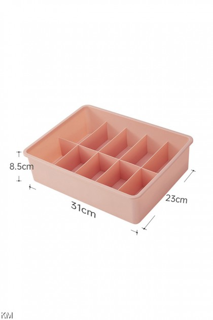 Lingerie Storage Organizer Compartment Box [2386] [2391]
