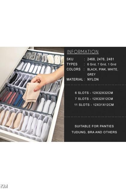 Household Underwear Storage Box [2468] [2476] [2481]