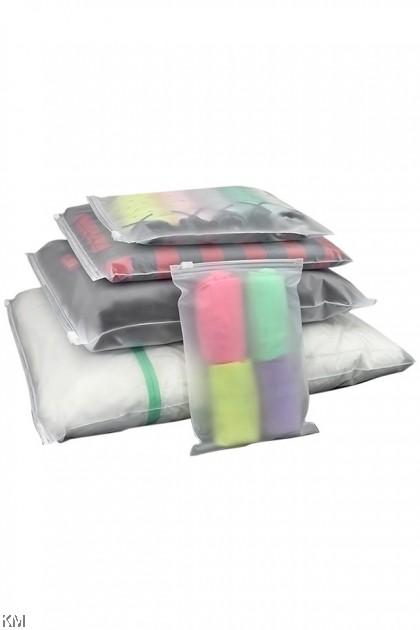 Ziplock Organizer Plastic Bag [2416]