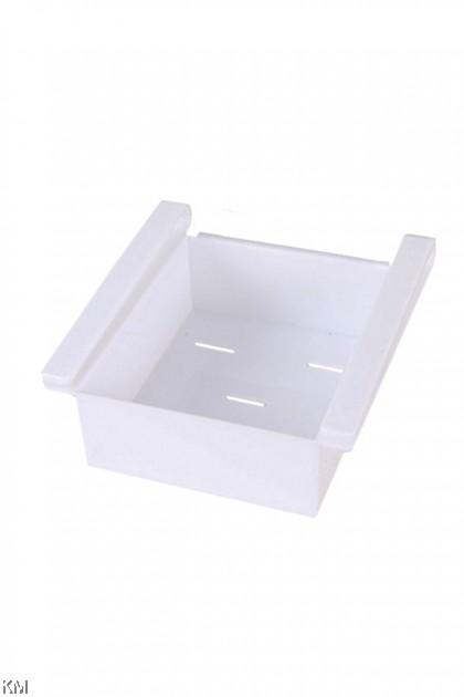Refrigerator Space Saver Organizer Shelf Holder [2397]